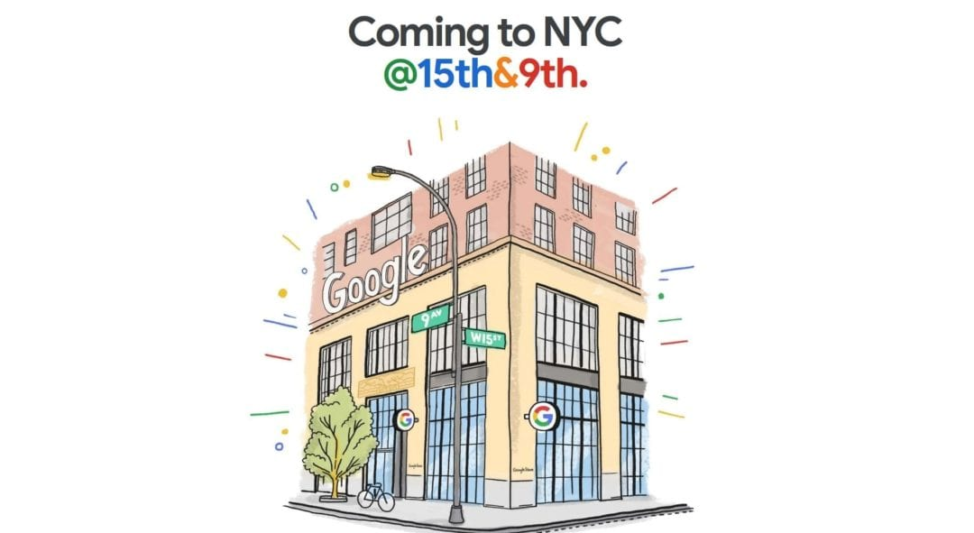 The First-ever Google Store is open in NewYork HalfofThe