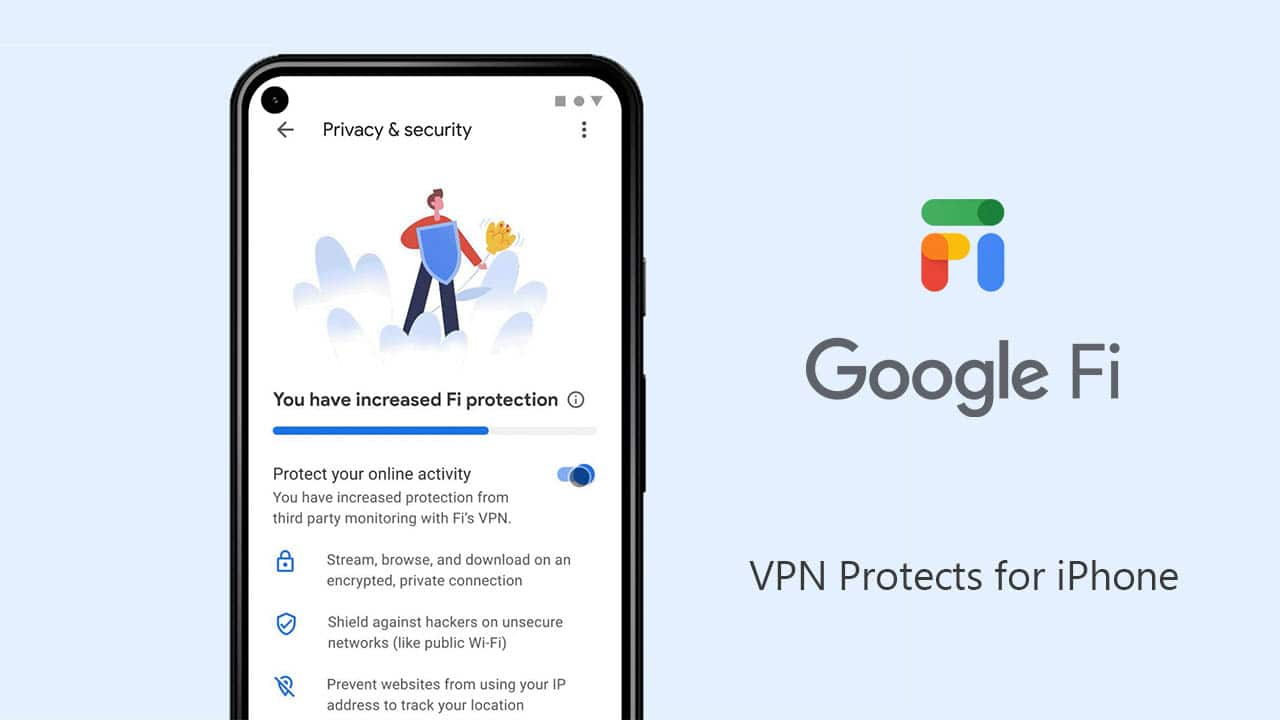 Google Fi's built-in VPN is available for iPhone users now HalfofThe