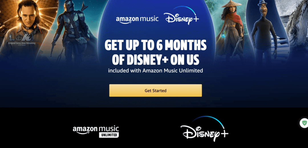 Amazon Music Unlimited offers six months of Disney Plus for free HalfofThe
