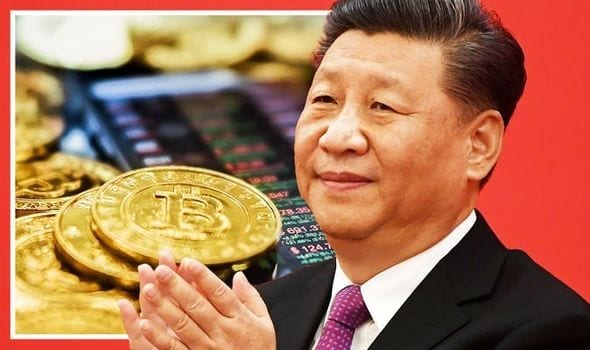 China Stance on crypto causes a fall in bitcoin value HalfofThe