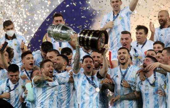 Argentina has won the Copa America, after 28 years HalfofThe